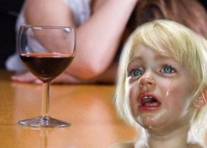 Parents 'need to drink less' in front of their kids
