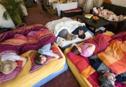 Evict the kids from their beds for holiday guests? Parents debate