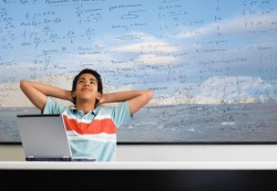 Motivation and study, not IQ, are keys to kids' math success