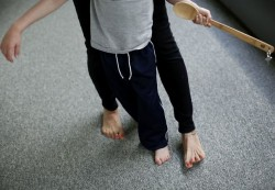 To help kids move, docs try Rolfing