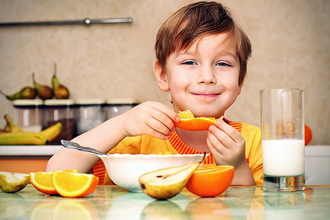 Kids and nutrition: A year of living healthfully