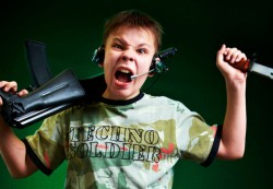 Violent video games associated with increased aggression in children