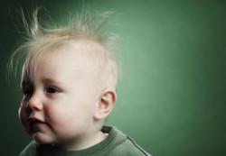 Облысение у детей: основные причины