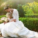 Свадебное платье будущим мамам, как выбрать