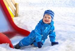 Как правильно одеть ребенка на зимнюю прогулку