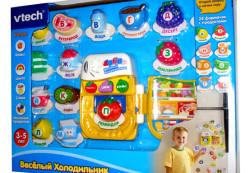 Описание игрушки «веселый холодильник»