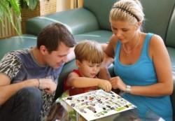 Как развить память у ребенка в форме игры