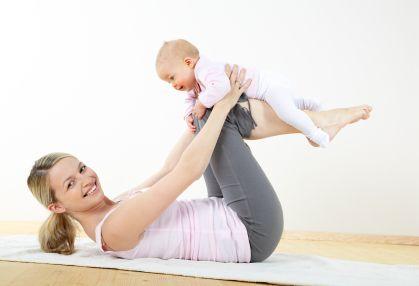 Как похудеть после родов?