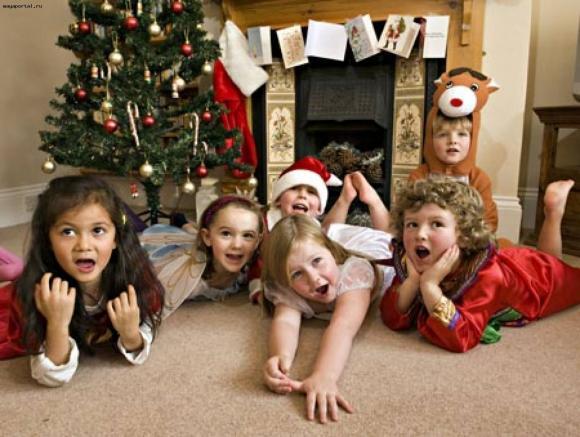 Как организовать веселый Новый Год для детей
