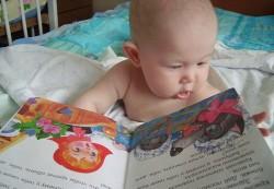 Книга – отрада для малыша
