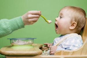 Младенцев начинают кормить твёрдой пищей слишком рано