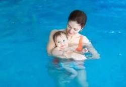 Плавание для грудничка. Профилактика болезней