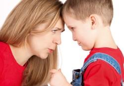 Ругань и наказания при воспитании ребенка