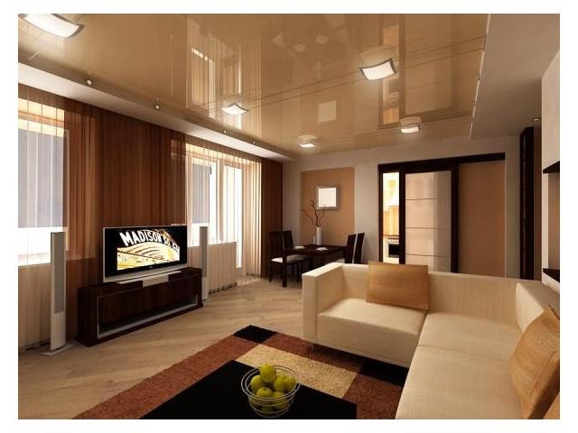 Как установить натяжной потолок в современном дизайне квартир