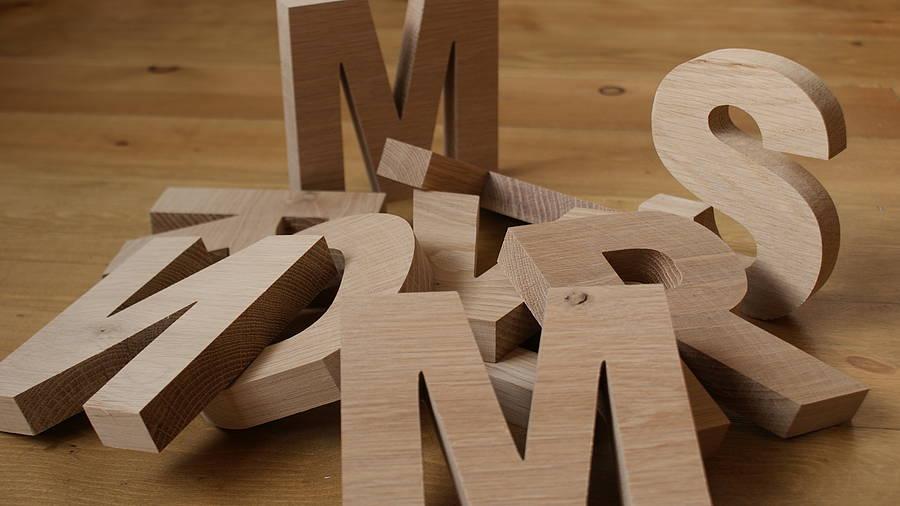 Как сделать объемную букву собственными руками?