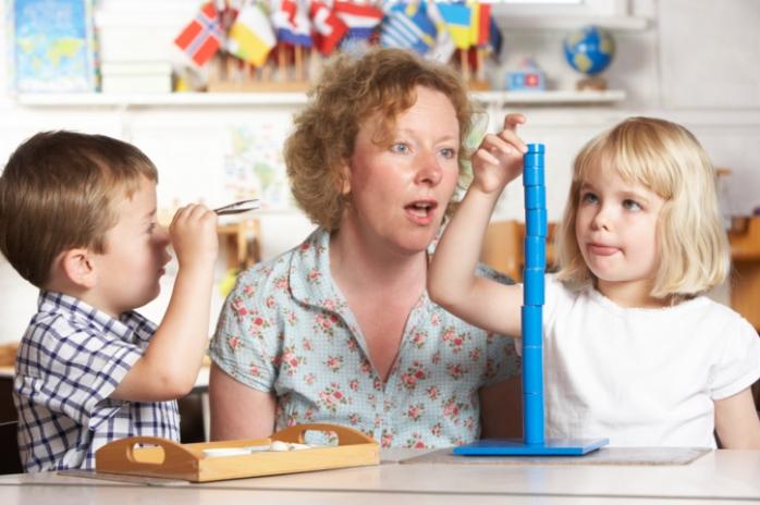Система Монтессори и детская нейропсихология