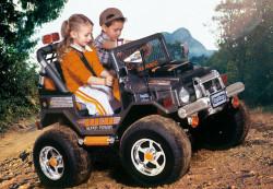 Подарите ребенку электромобиль