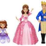 Понравится ли набор игровых кукол принцесса София девочке 4х лет?