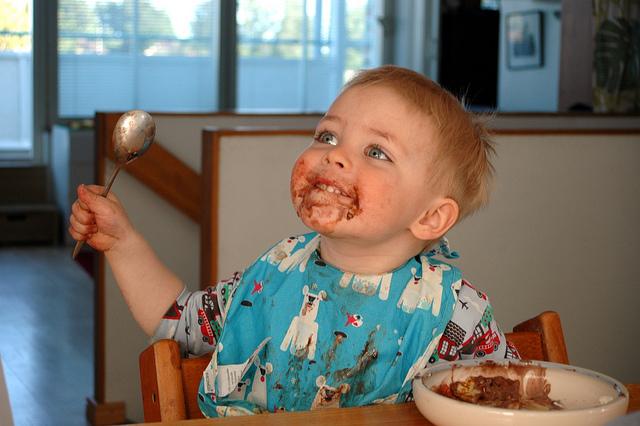 Дети больше всего любят соленое и сладкое