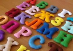 Как сделать алфавит своими руками