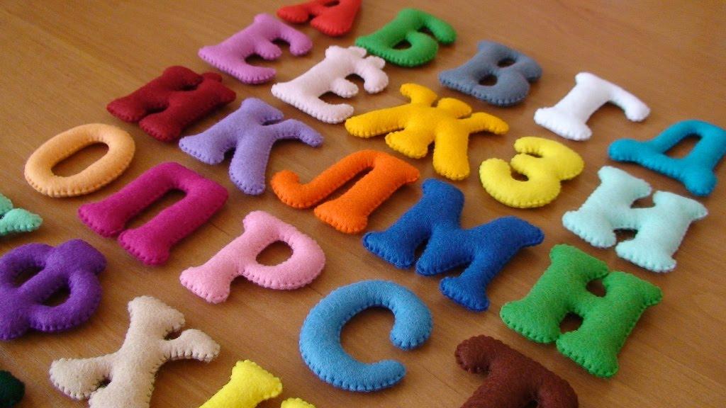 Мягкий алфавит для малышей