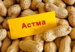 Ученые считают, что аллергия на арахис распространена среди детей с астмой