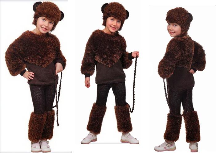 Порадуйте своего ребенка – сшейте костюм обезьянки своими руками!