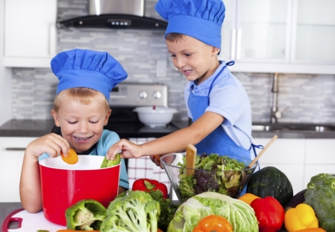 Вегетарианство улучшает здоровье детей