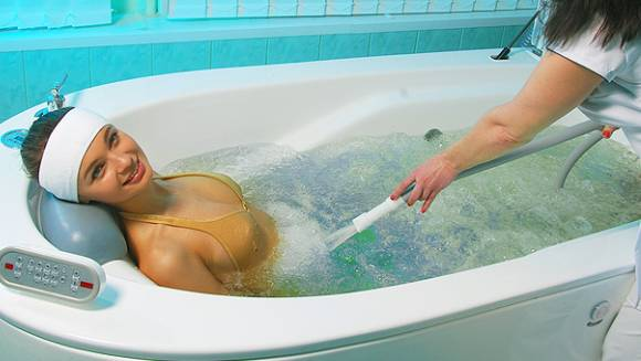 Оздоровительные ванны. Гидромассаж