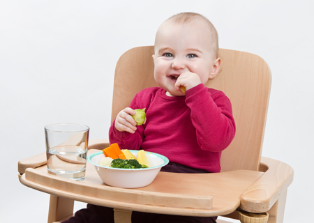 Детям лучше давать сезонные овощи