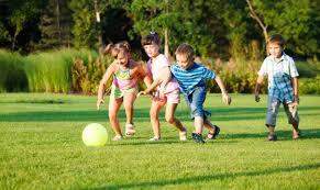 Летние игры с детьми