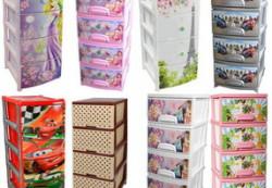 Пластиковые комоды: пригодятся в любой комнате
