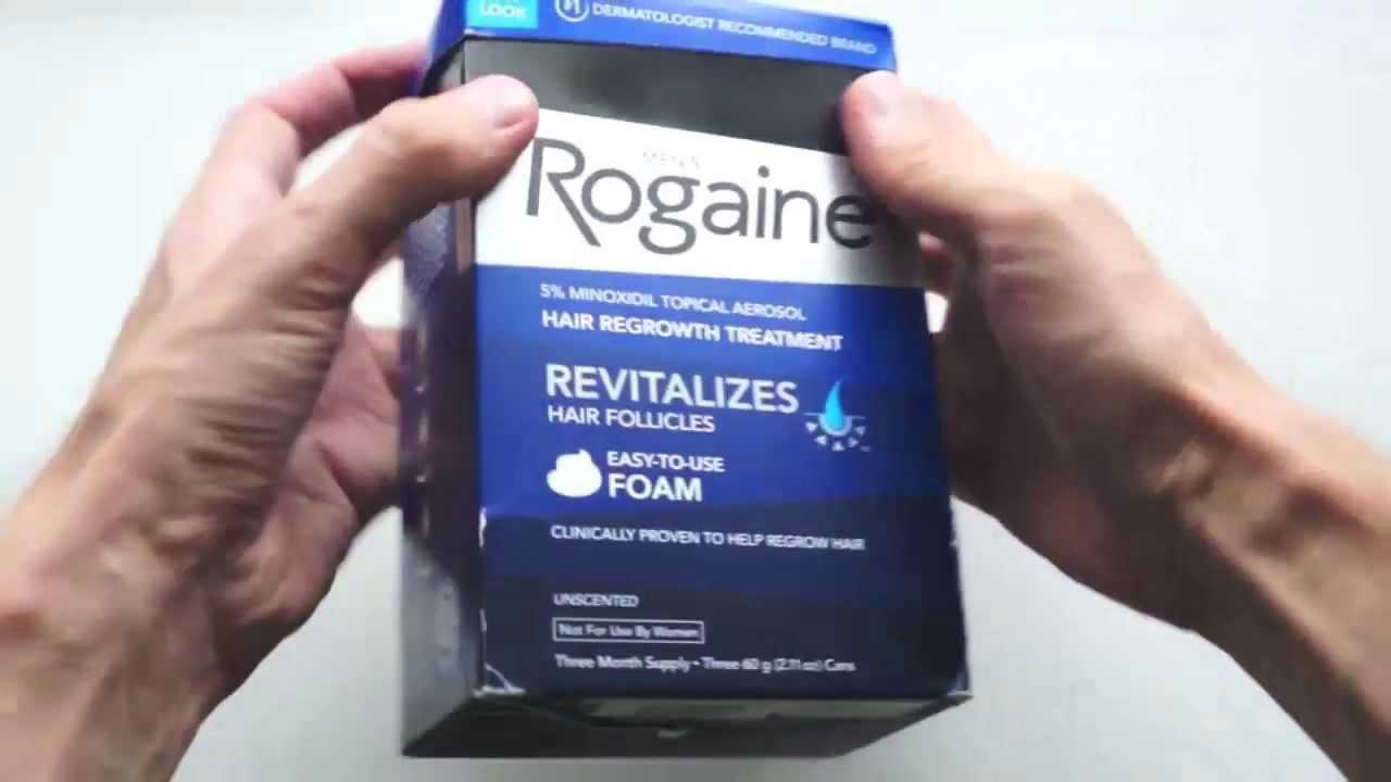 Пена Регейн — восстановление волос при облысении