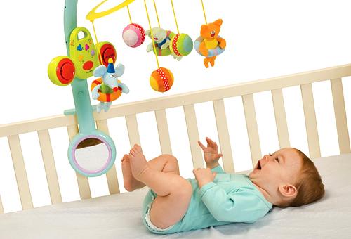 Детские игрушки для малыша до года