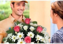 Доставка цветов. Доставка цветов для любимой