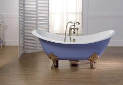 Тонкости монтажа чугунной ванны