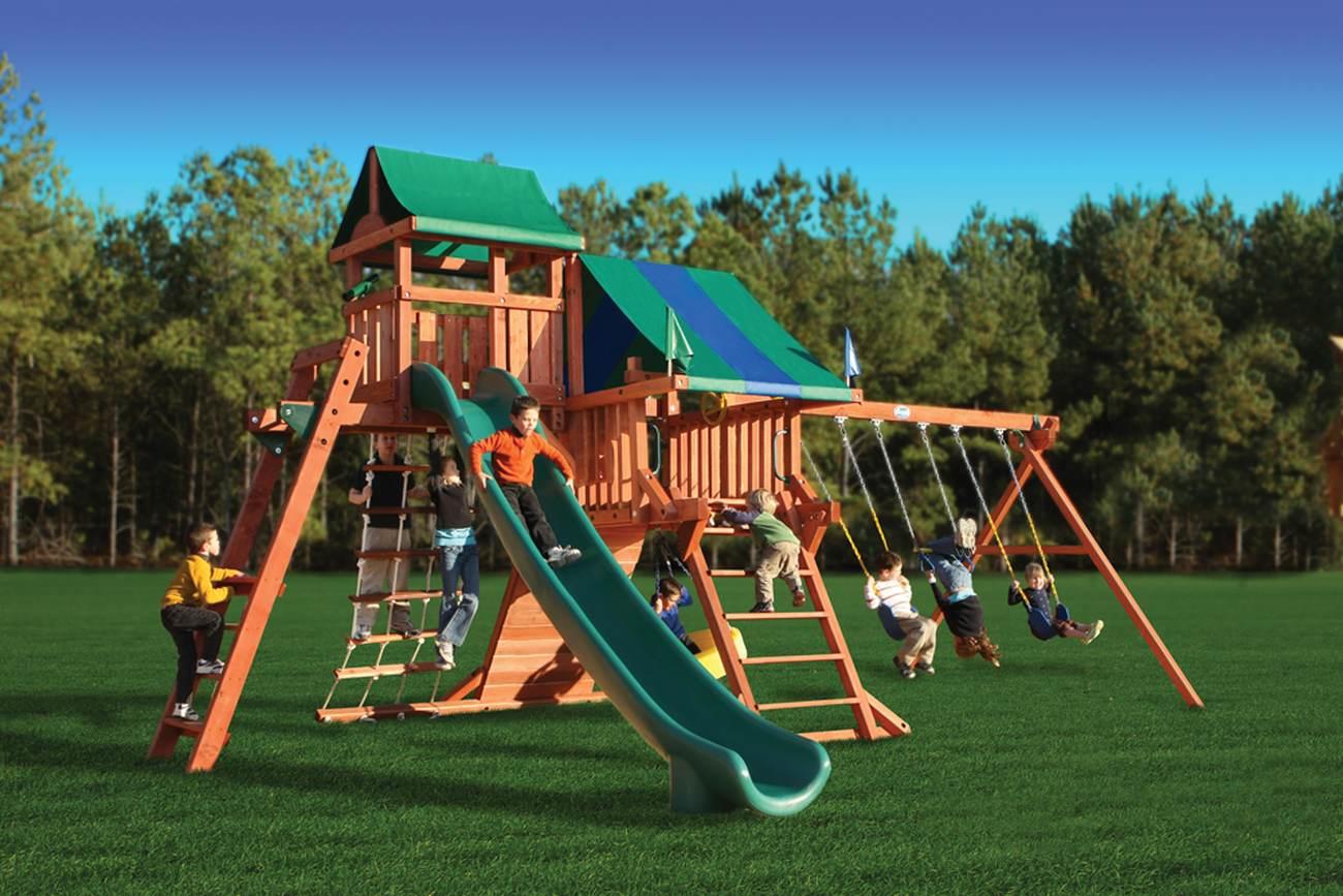 Детская игровая площадка: подарите своему ребенку счастье