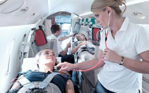 Комплексная и профессионально выполненная транспортировка больных самолетом