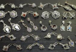 Чистка серебряных украшений