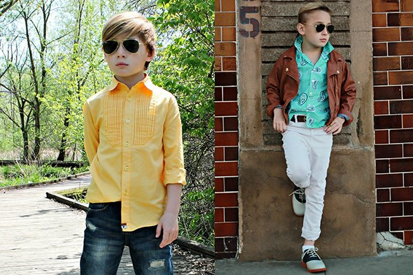 Детская рубашка: лучшее детям