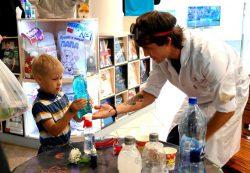 Научное шоу — лучший подарок на детский День рождения