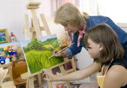 Курсы живописи – возможность реализовать детские мечты