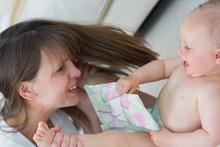 Стул ребенка при грудном вскармливании
