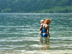 Важные правила с ребенком на водоеме