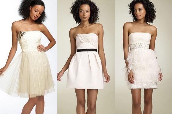 Короткое свадебное платье — это всегда женственно и актуально