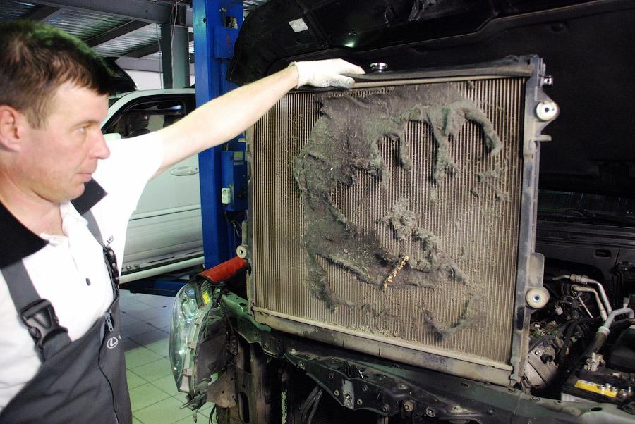 Радиатор охлаждения автомобиля: что нужно для ремонта в случае неполадок