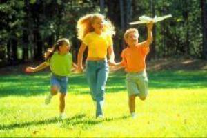 Детям необходимо солнце