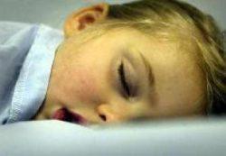 Время сна влияет на здоровье детей