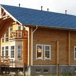 Клееный брус в строительстве домов