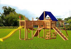 Детские игровые площадки для дачи – инвестиции в здоровье ваших малышей